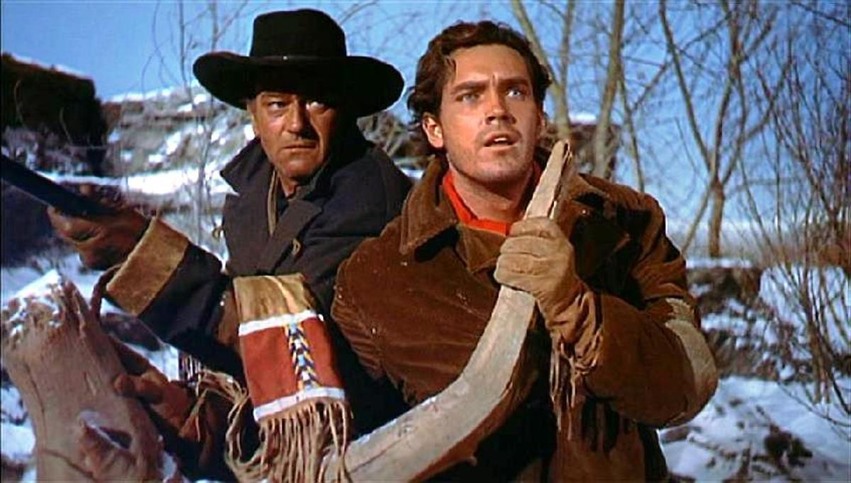 "Scene from ""The Searchers"""