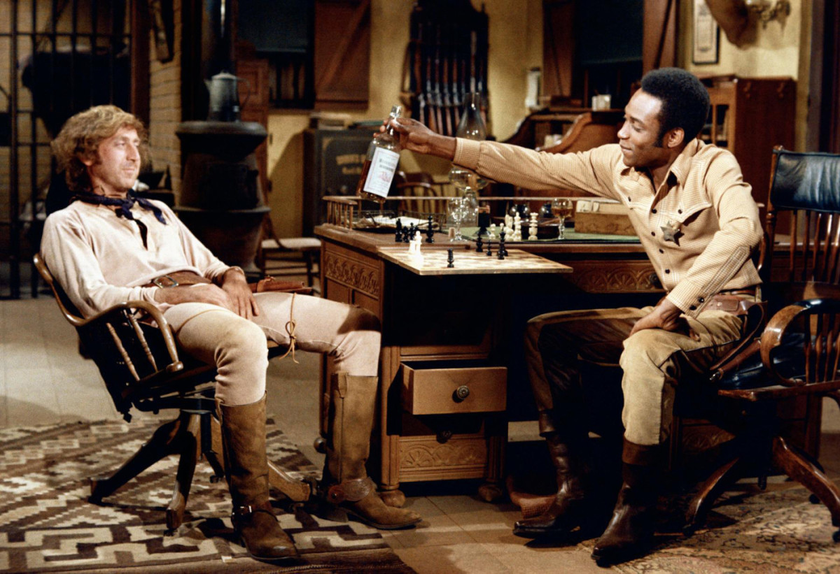 "Scene from ""Blazing Saddles"""