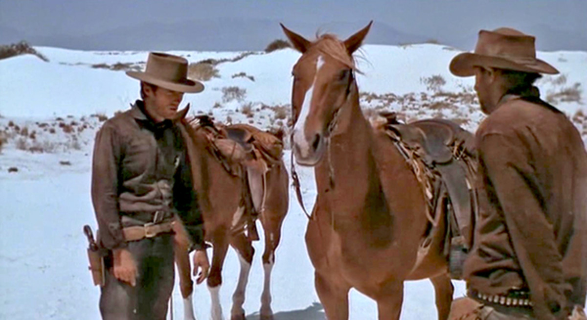 "Scene from ""Hang 'Em High"""