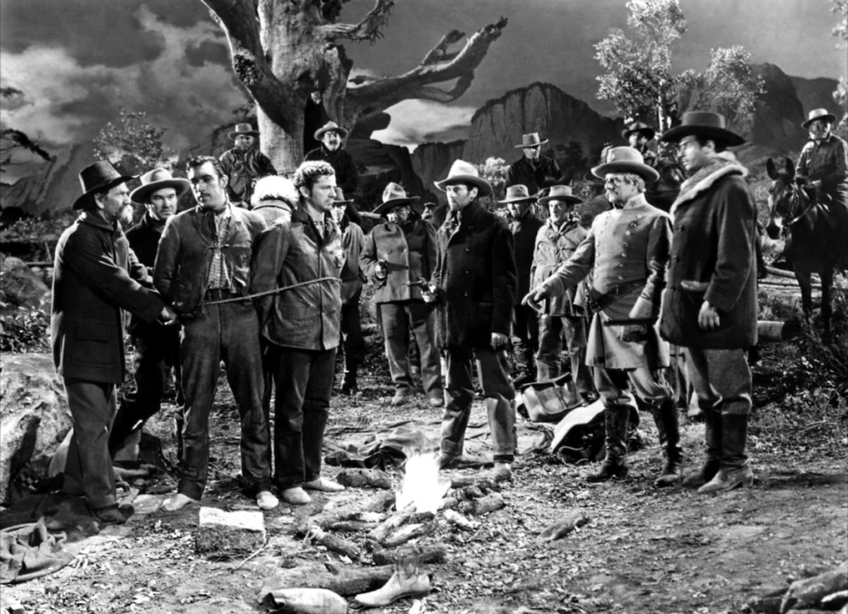 "Scene from the ""Ox-Bow Incident"""