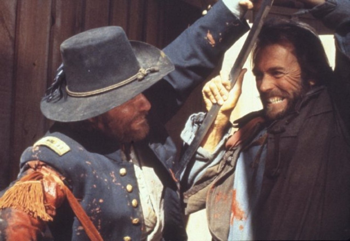 "Scene from ""The Outlaw Josey Wales"""