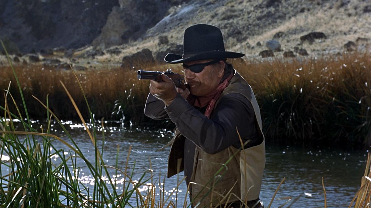 """John Wayne in """"True Grit"""""""