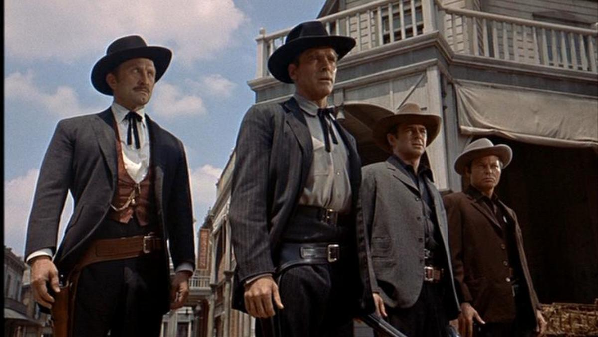 """Scene from """"Gunfight at the OK Corral"""""""