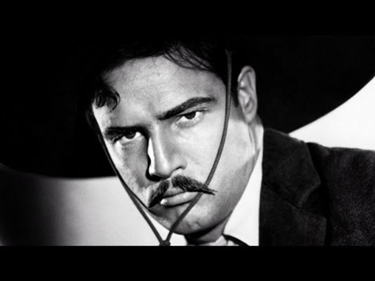 "Marlon Brando in ""Viva Zapata!"""
