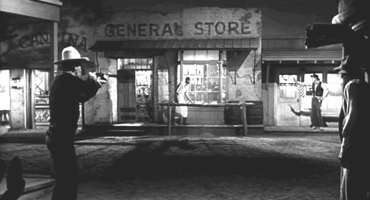 "Scene from ""The Man Who Shot Liberty Valance"""