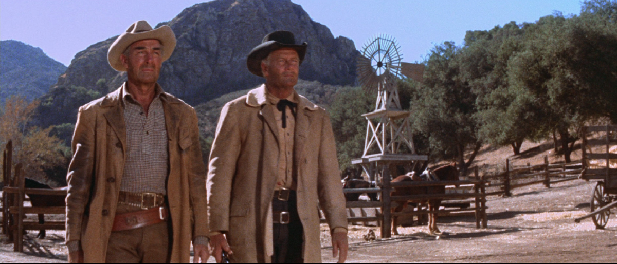 "Scene from ""Ride the High Country"""