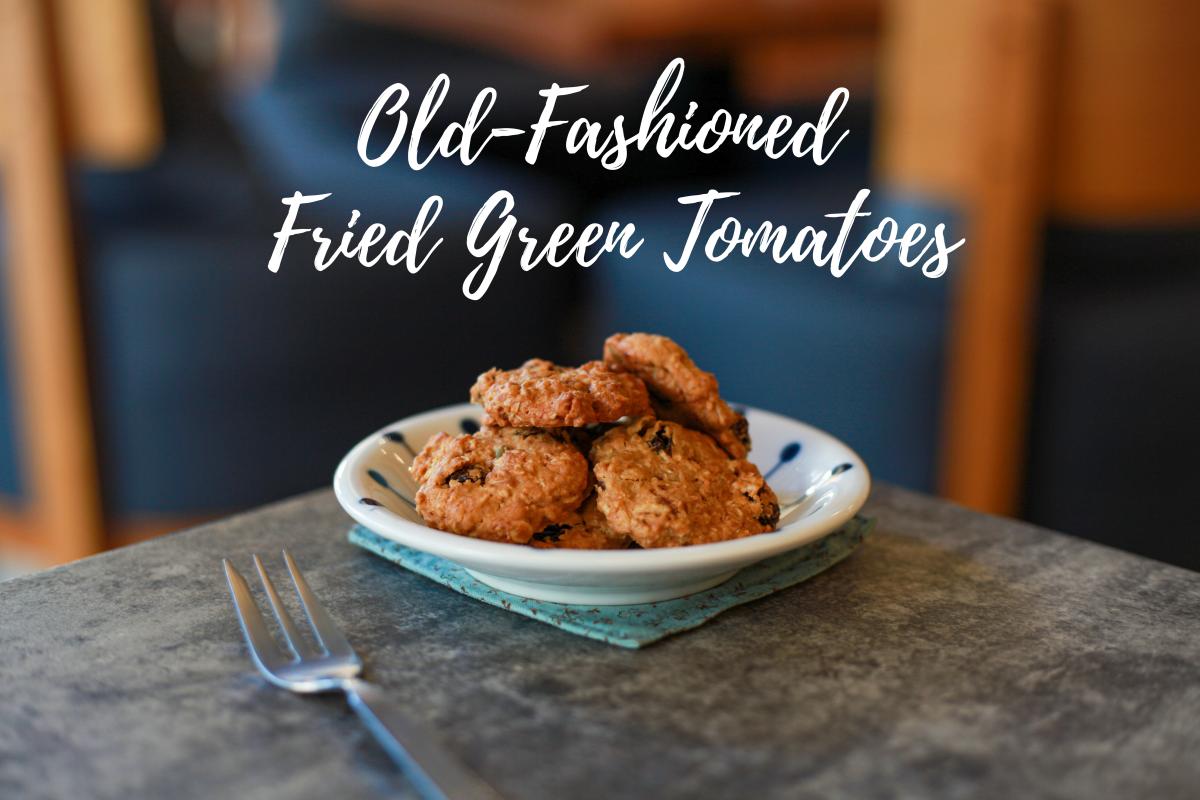 Grandma's Southern Fried Green Tomatoes Recipe