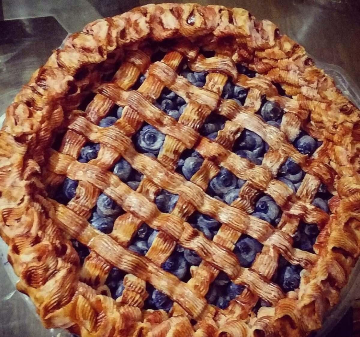 Blueberry Pie Soap