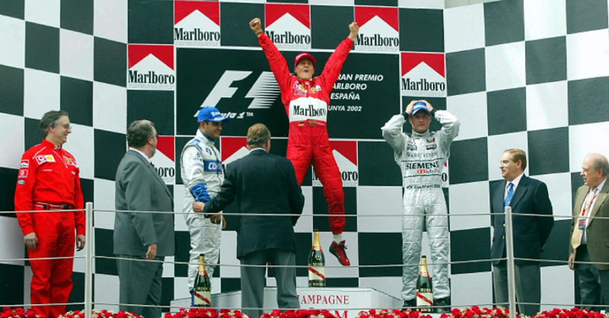 The 2002 Spanish GP: Michael Schumacher's 57th Career Win