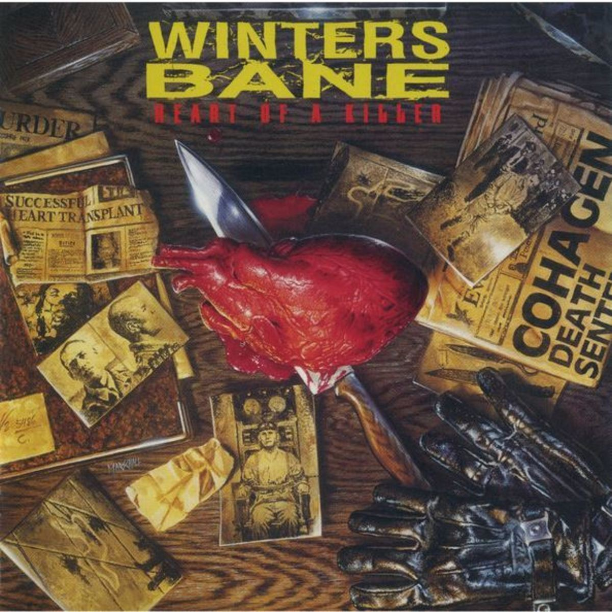 """Heart of a Killer"" CD cover"
