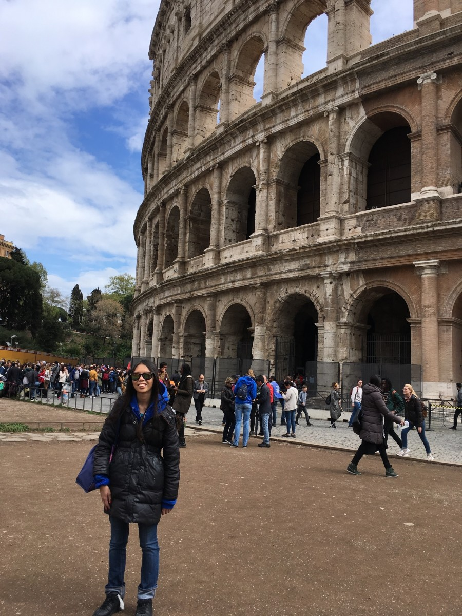I loved visiting the Coliseum!