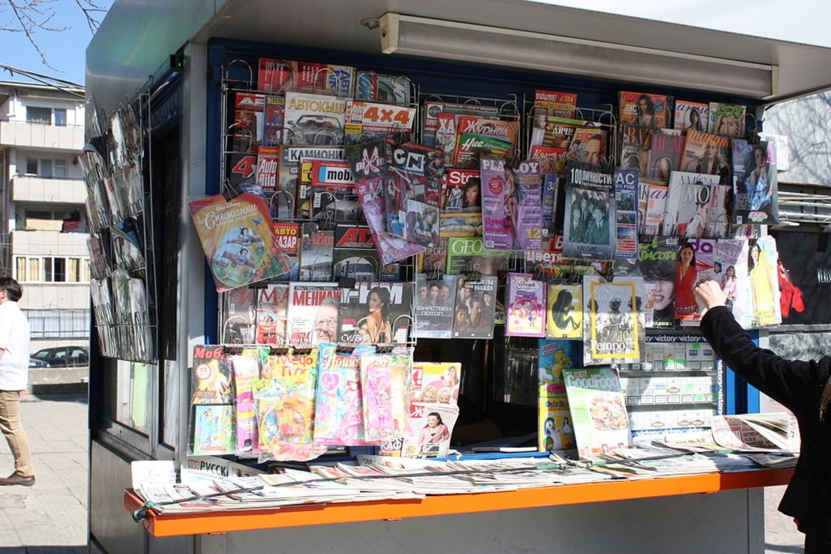 Need a bus ticket? Head to the nearest newspaper stand.