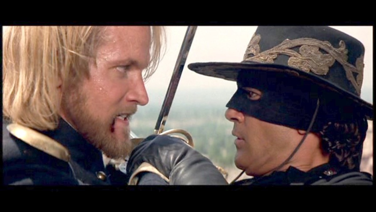Captain Love is killed by Zorro.