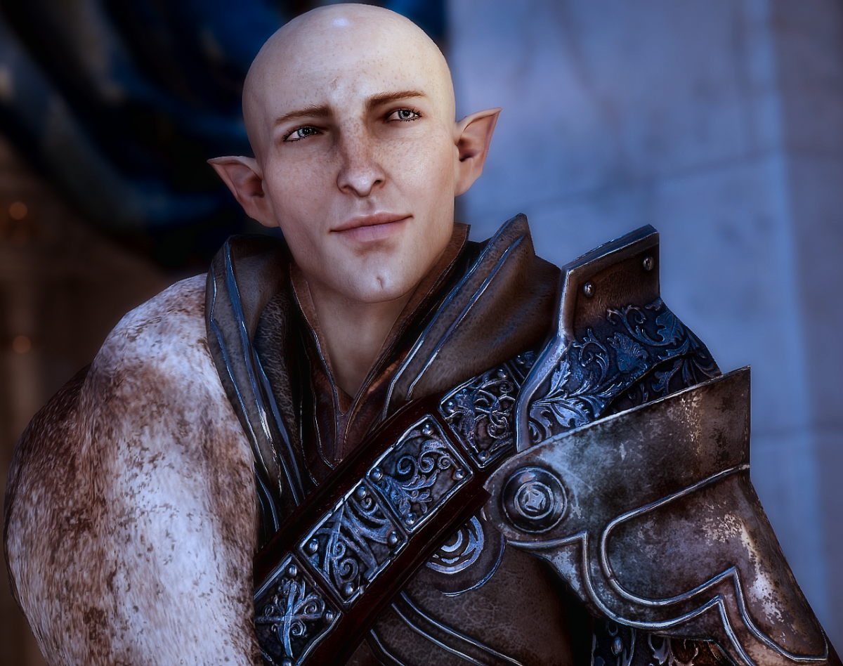 """Solas from """"Dragon Age: Inquisition."""""""