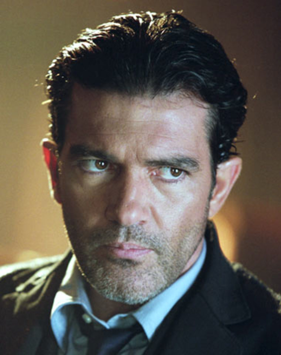 The film is a world away from Banderas' appearance as El Mariachi as it's slow, boring and incoherent trash