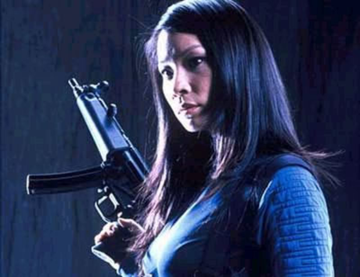 """Lucy Liu takes aim at her agent in """"Ballistic: Ecks Vs Sever"""""""