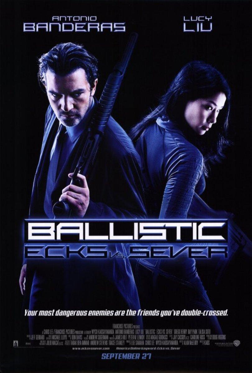 """Poster for """"Ballistic: Ecks Vs Sever"""""""