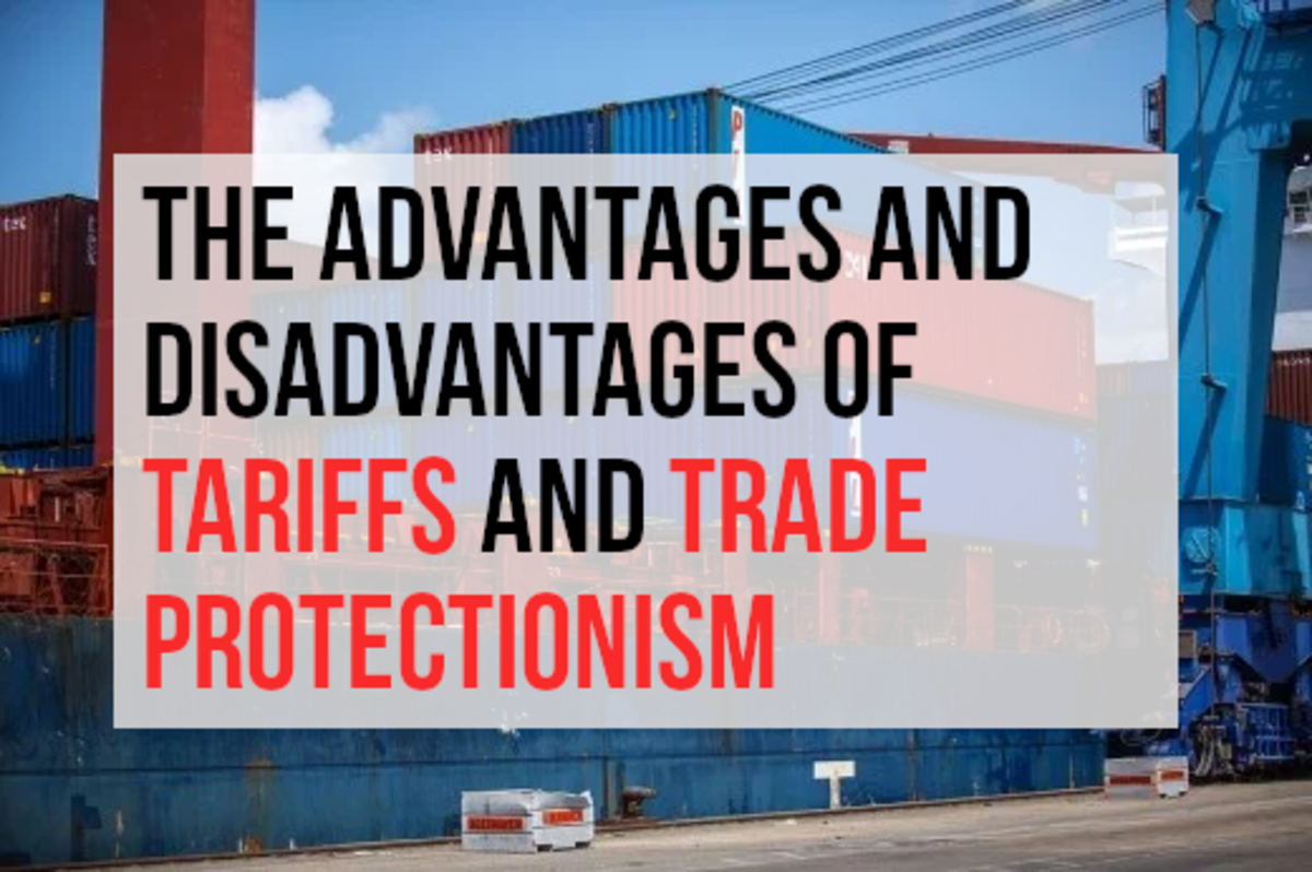 This article lists the pros and cons of tariffs and protectionism. Those in favor of protectionism argue that it works as a guard against unfair foreign competition. Those against argue that everybody loses when countries adopt protectionist measures