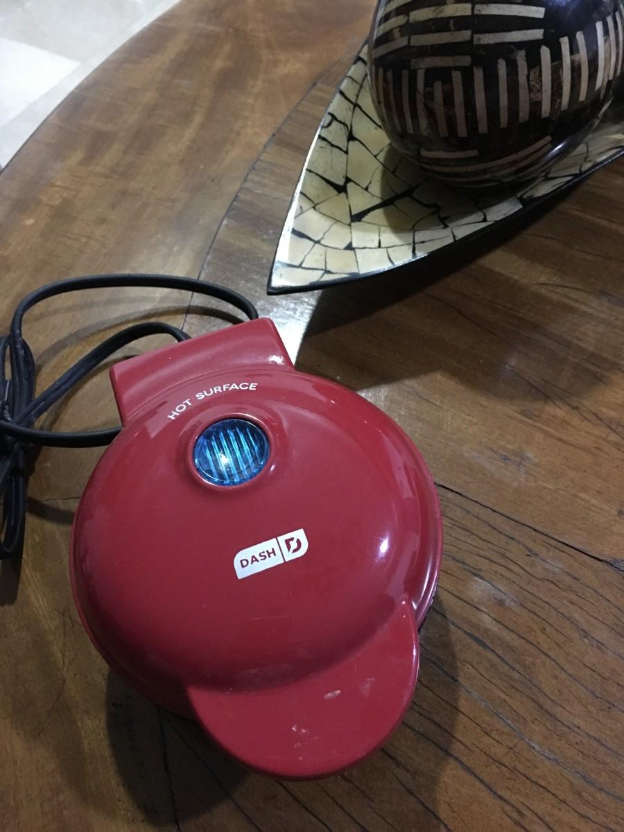 My Dash waffle maker