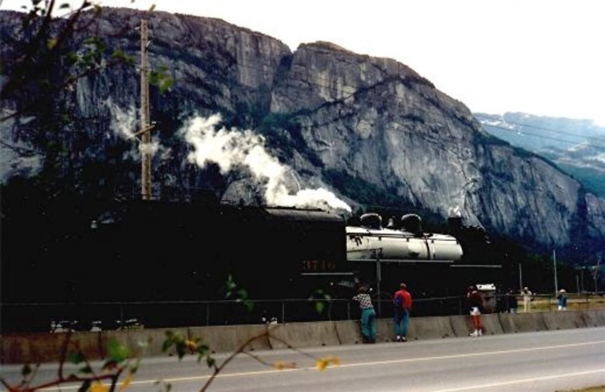 Royal Hudson Steam Locomotive