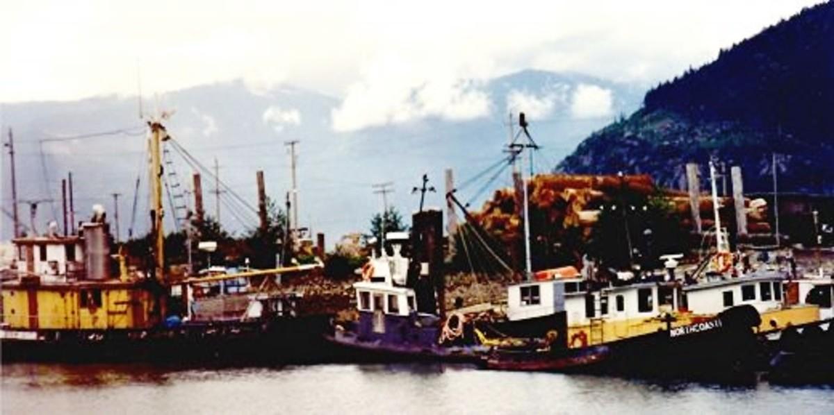 Boats near Squamish