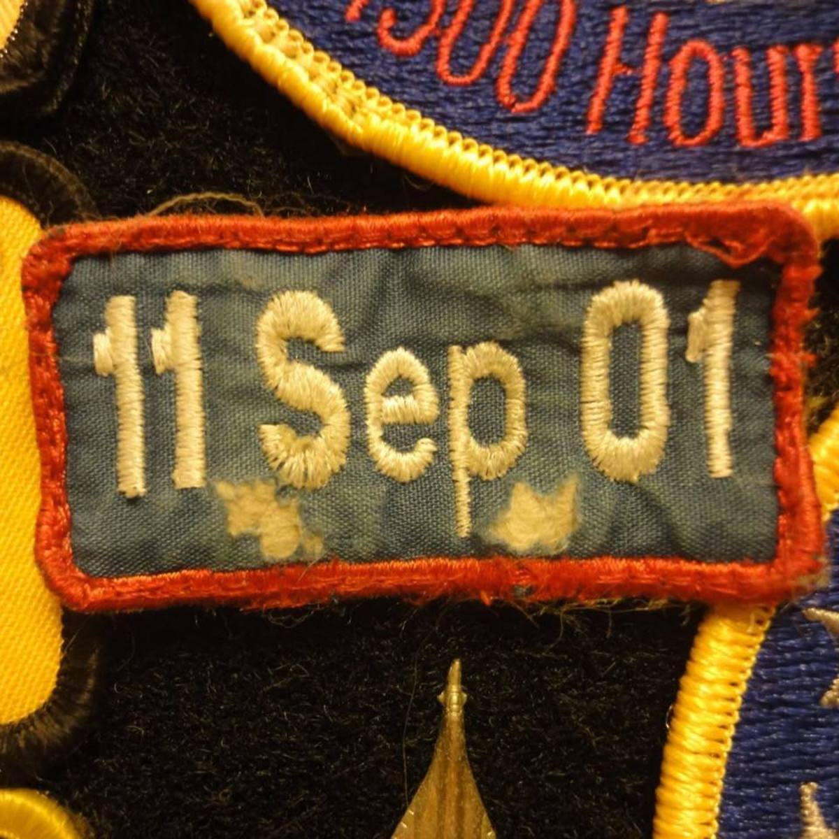 For almost a decade I wore this patch daily on my flight suit pencil pocket