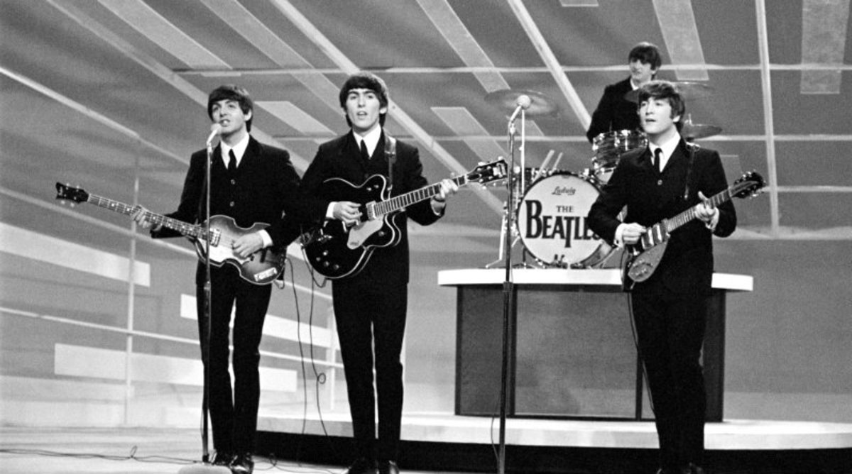 On February 9, 1964, the Beatles appeared on the Ed Sullivan Show.