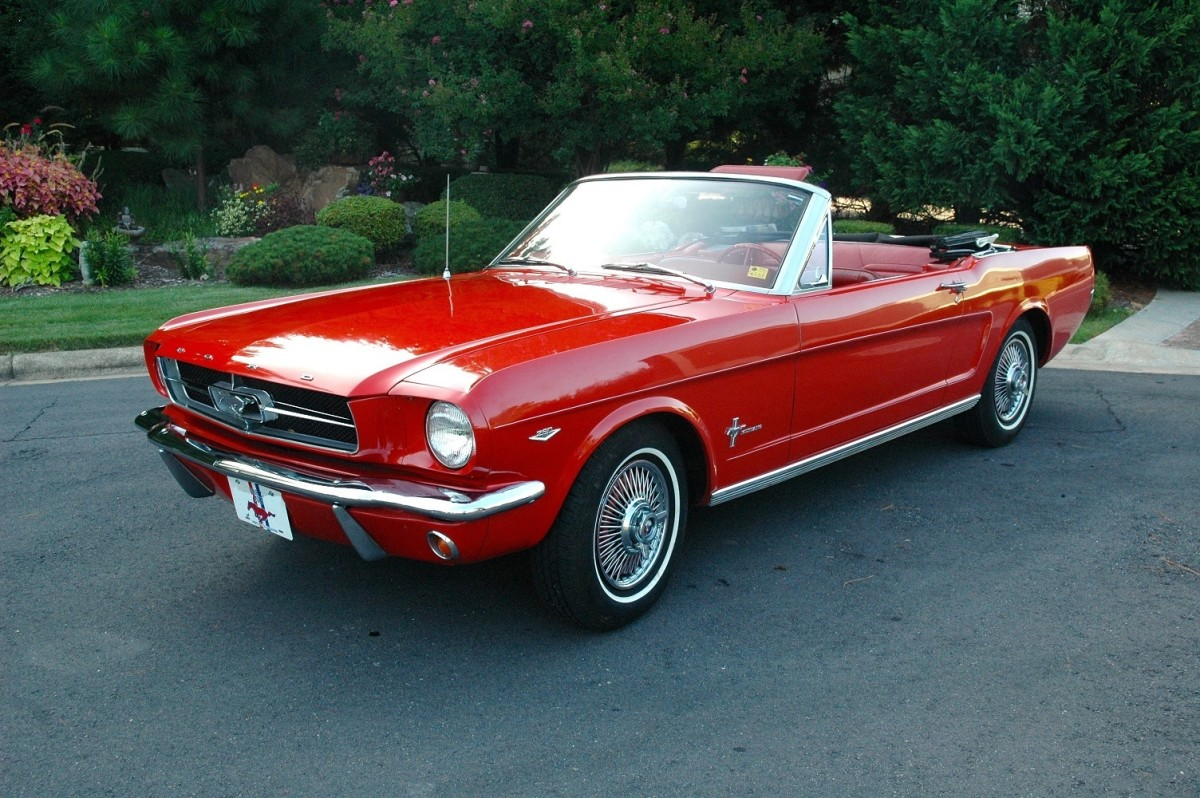 In 1964, the first Ford Mustang came off the assembly line.