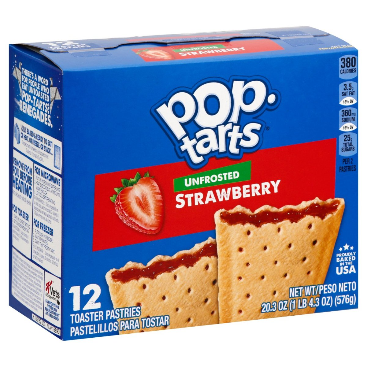 In 1964, Pop-Tarts appeared on grocery store shelves for the first time.