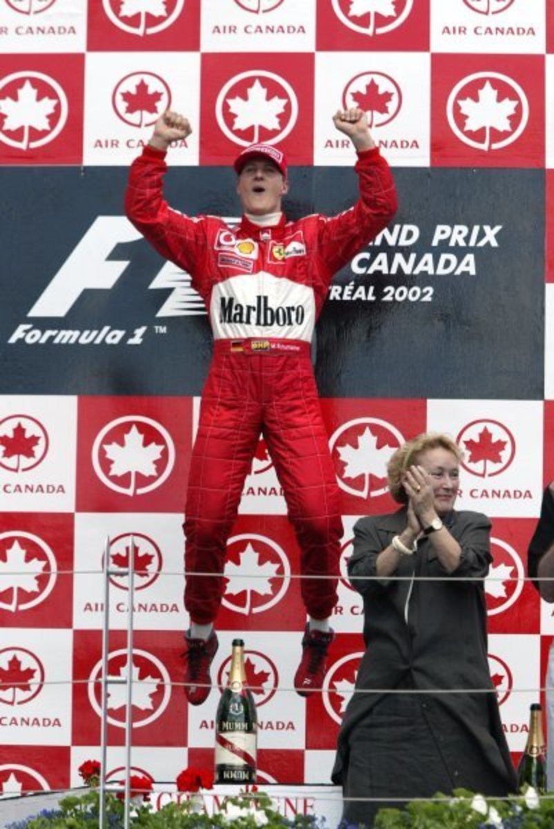 The 2002 Canadian GP: Michael Schumacher's 59th Career Win