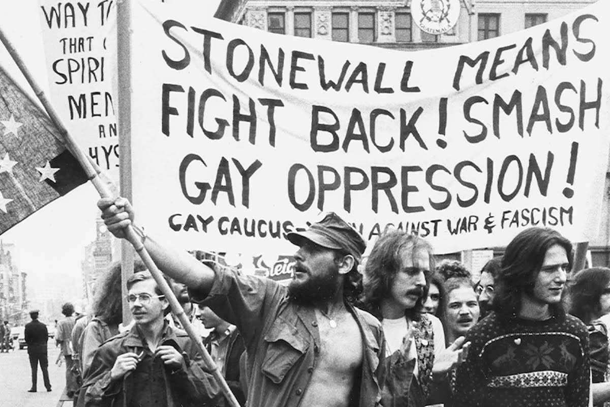On the anniversary of the first riot at Stonewall Inn, Pride celebrations were held in cities all over the United States.