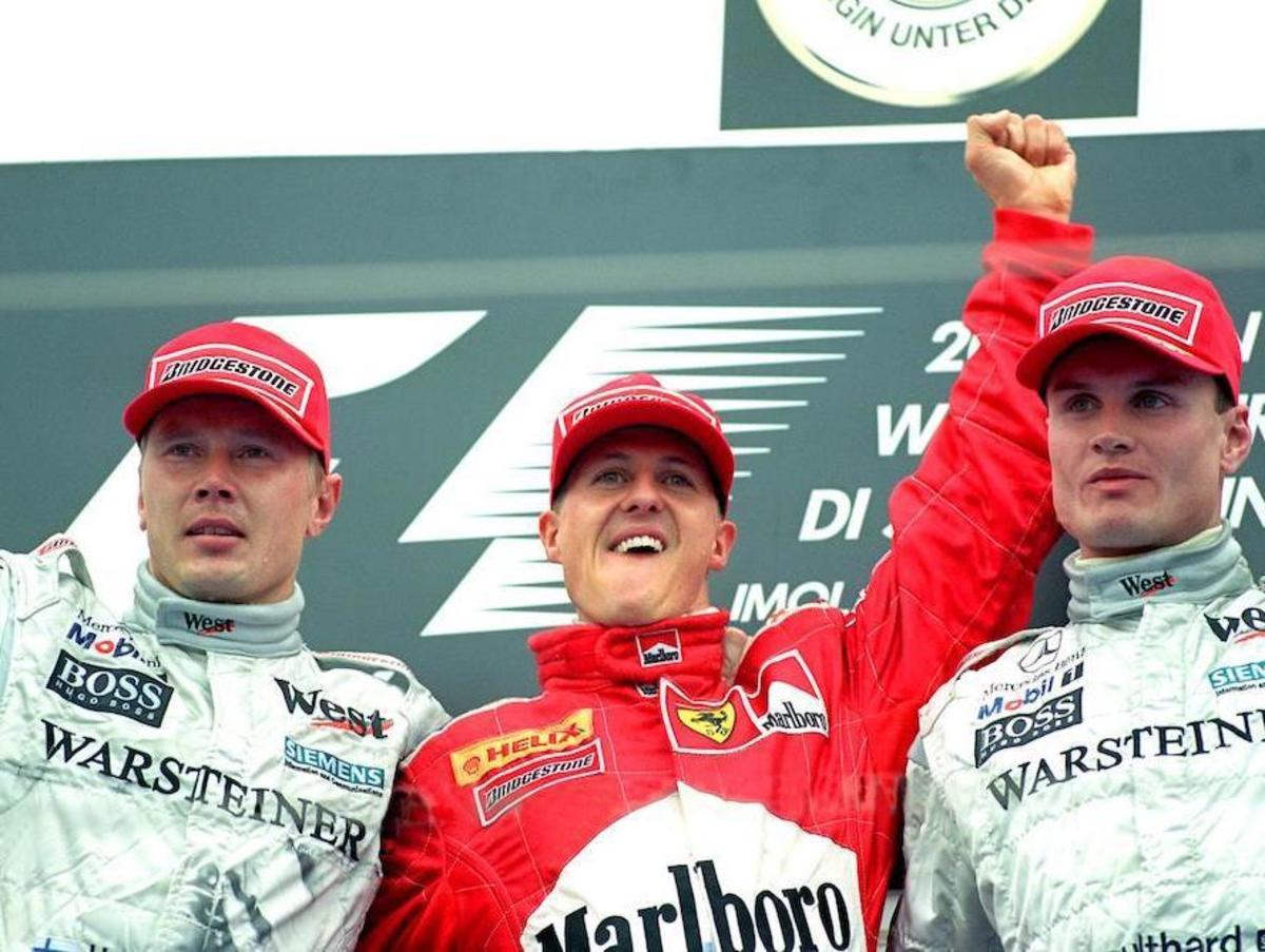 The 2000 San Marino GP: Michael Schumacher's 38th Career Win