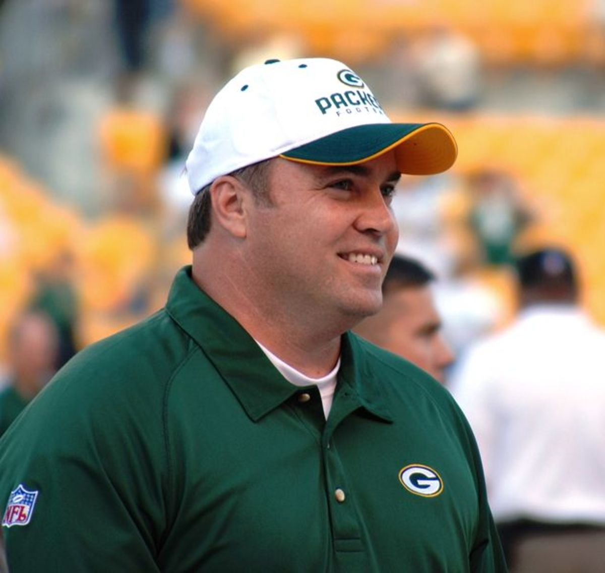 Mike McCarthy, former head coach of the Packers.