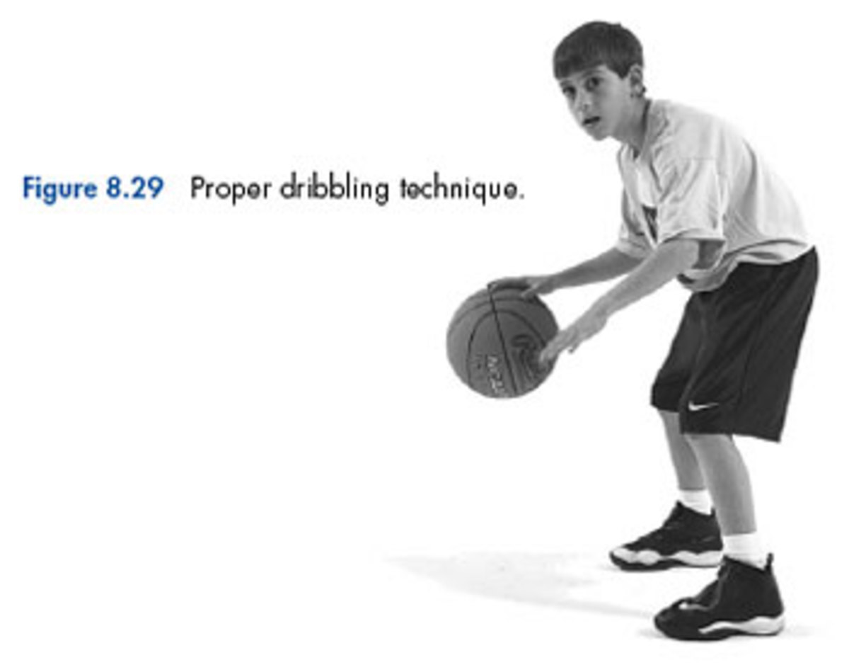 Teach Children, Ages 2-5, to Dribble a Basketball
