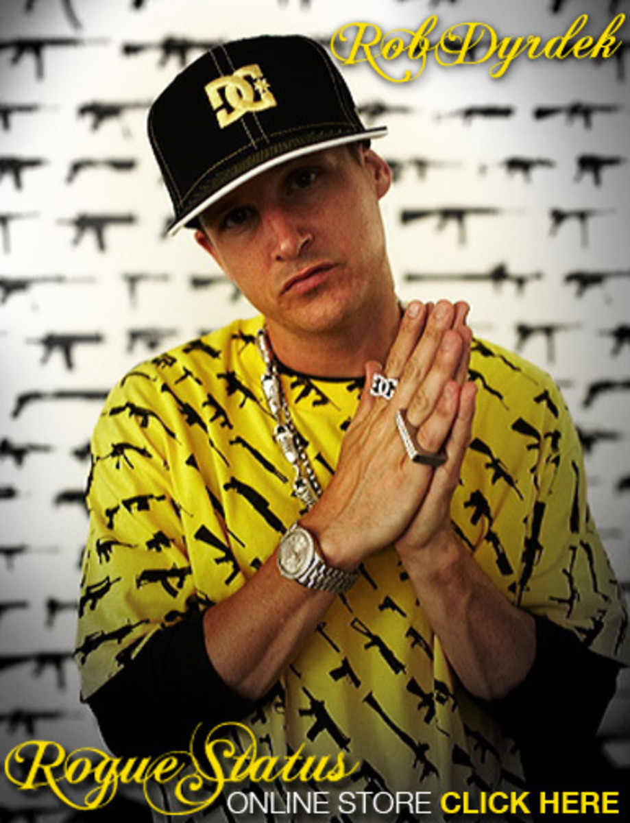 Rob Dyrdek Sponsors Himself With Rogue Status