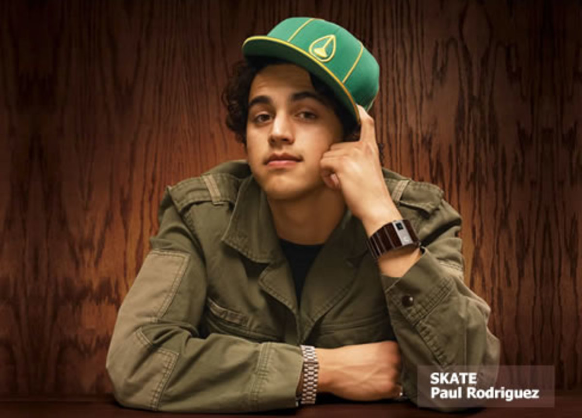Paul Rodriguez, Sponsored By Nixon Watches