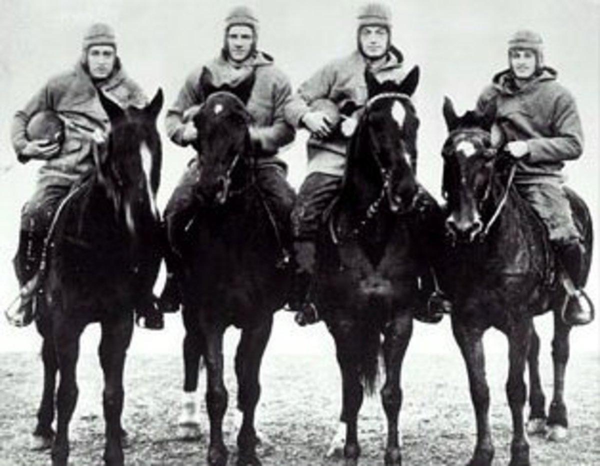The Four Horsemen of Notre Dame