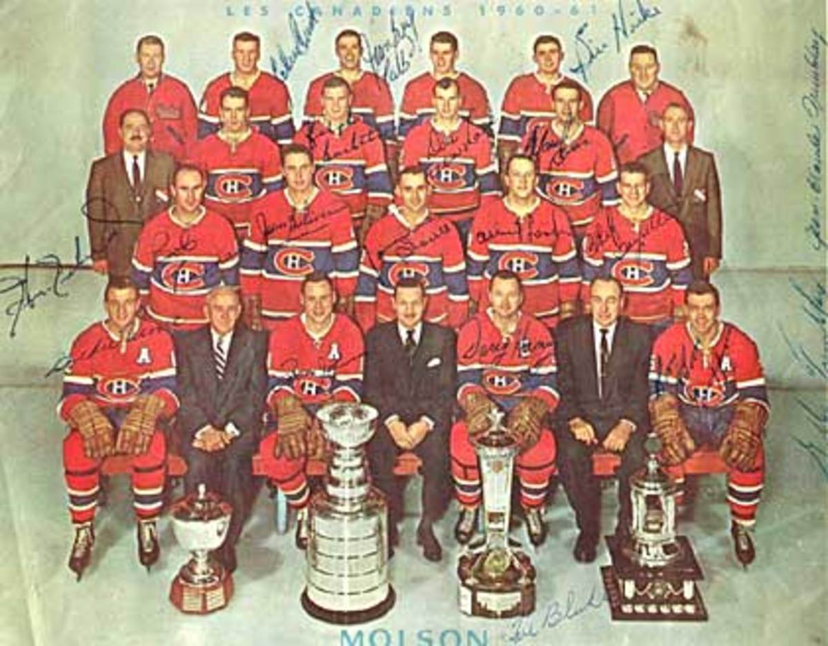 Montreal Canadiens, 1960-1961