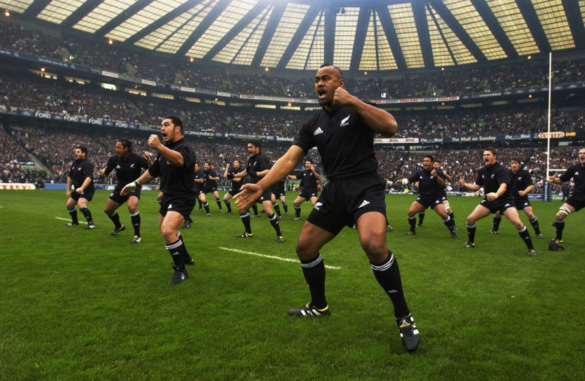 All Blacks rugby pre-game ritual