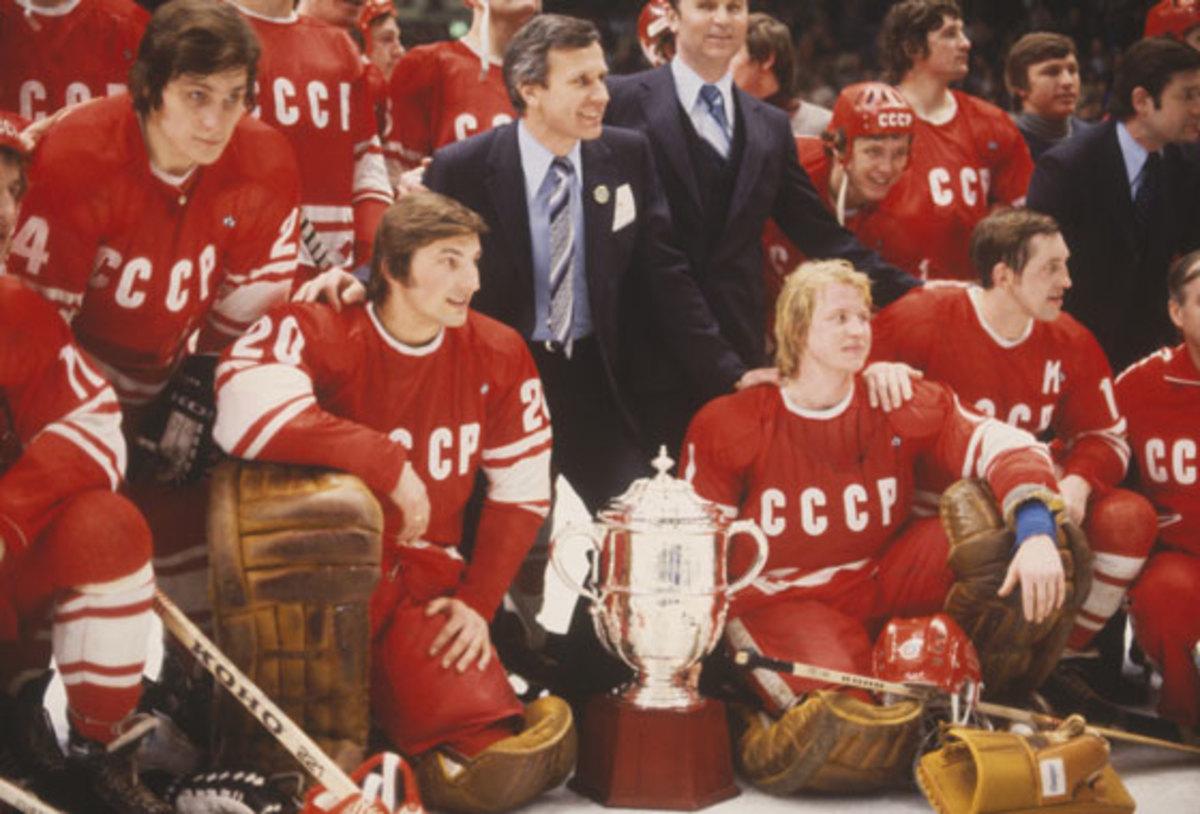 Soviet Union Hockey Teams, 1954–1990
