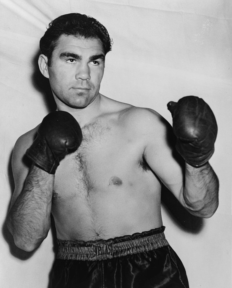 The German boxer, Max Schmeling, who was  heavyweight champion of the world between 1930 and 1932.  He is most famous for his two fights with Joe Louis in the 1930s, which were highly politically charged, due to the Nazi Party takeover in Germany.