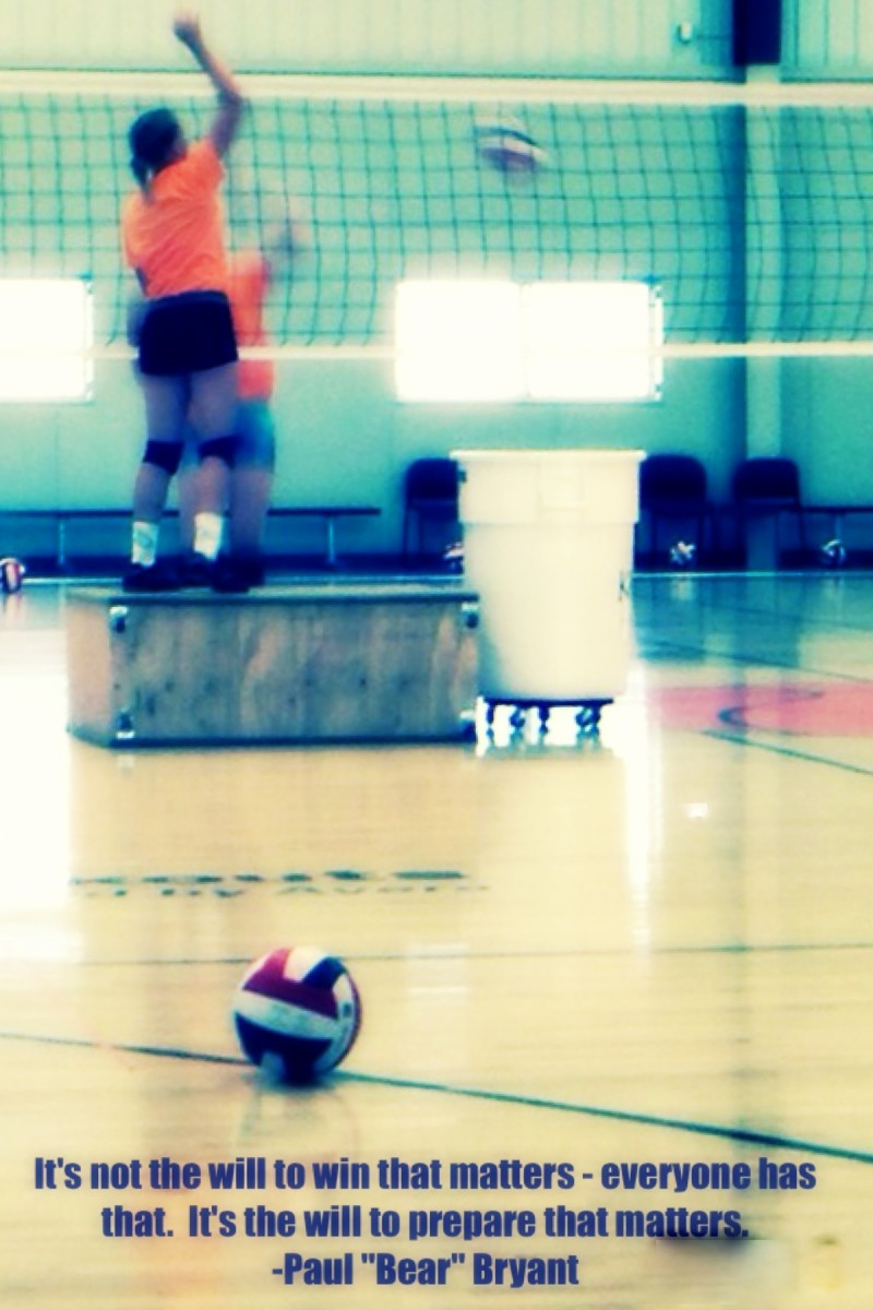Prepare Quote - Site with the best volleyball quotes.