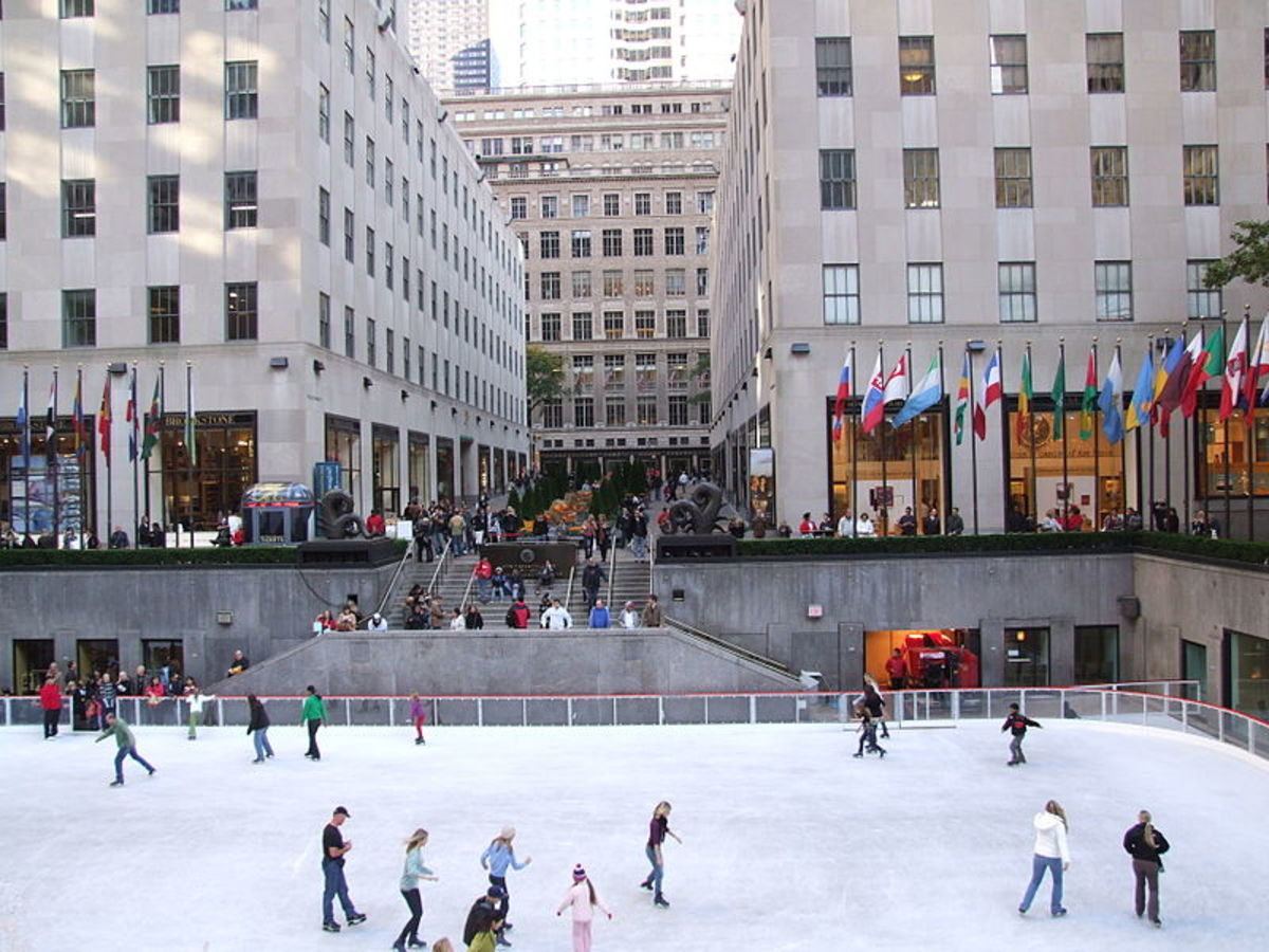 Rockerfeller Center Ice Rink