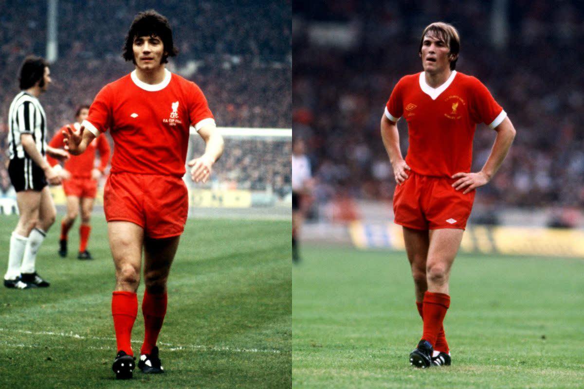 Kevin Keegan and Kenny Dalglish.