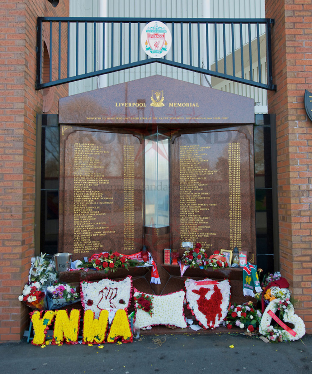 Hillsborough Disaster Memorial
