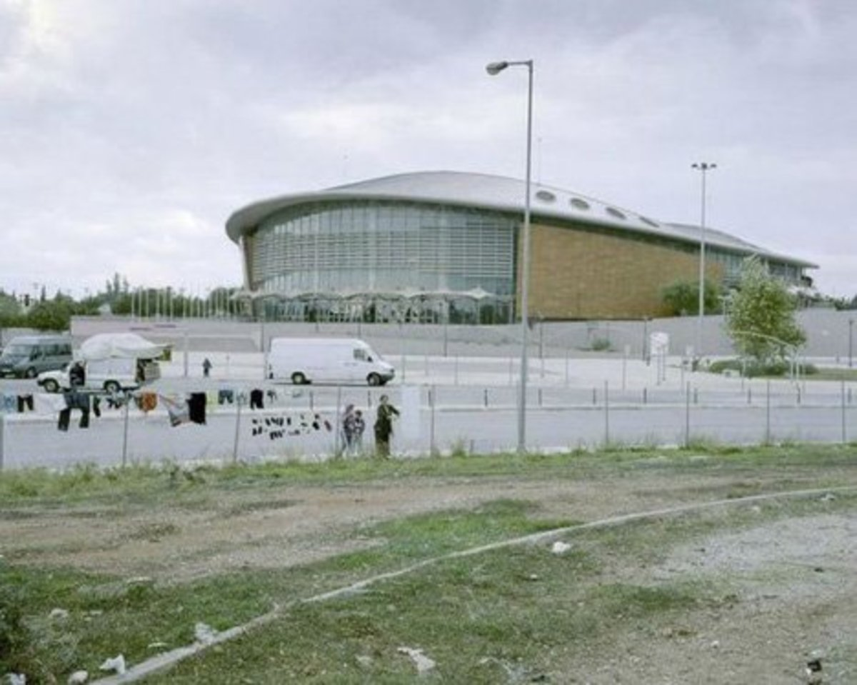 Gypsies now populate the abandoned venues.