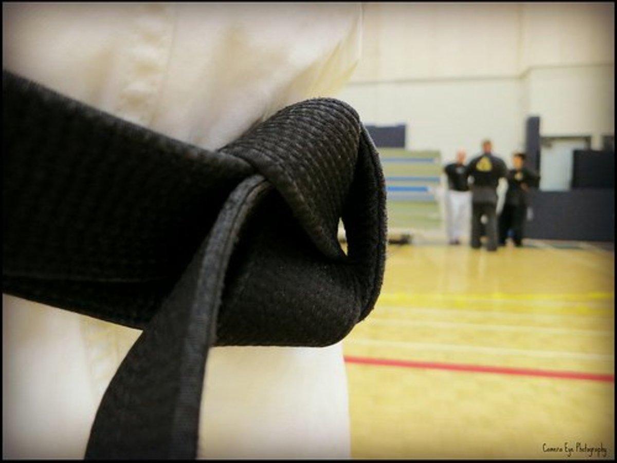 The black belt.