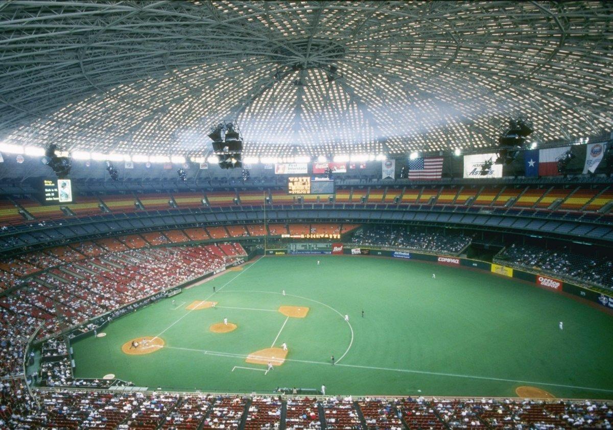 The Astrodome in Houston, Texas