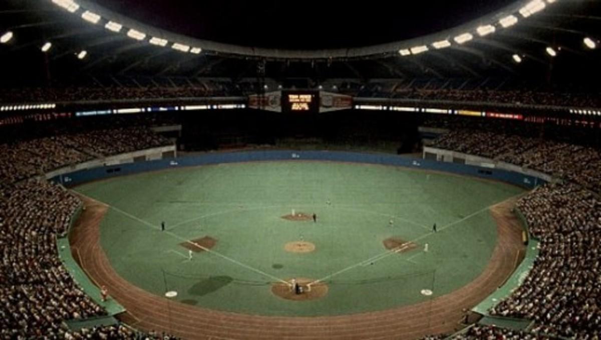 Olympic Stadium in Montreal