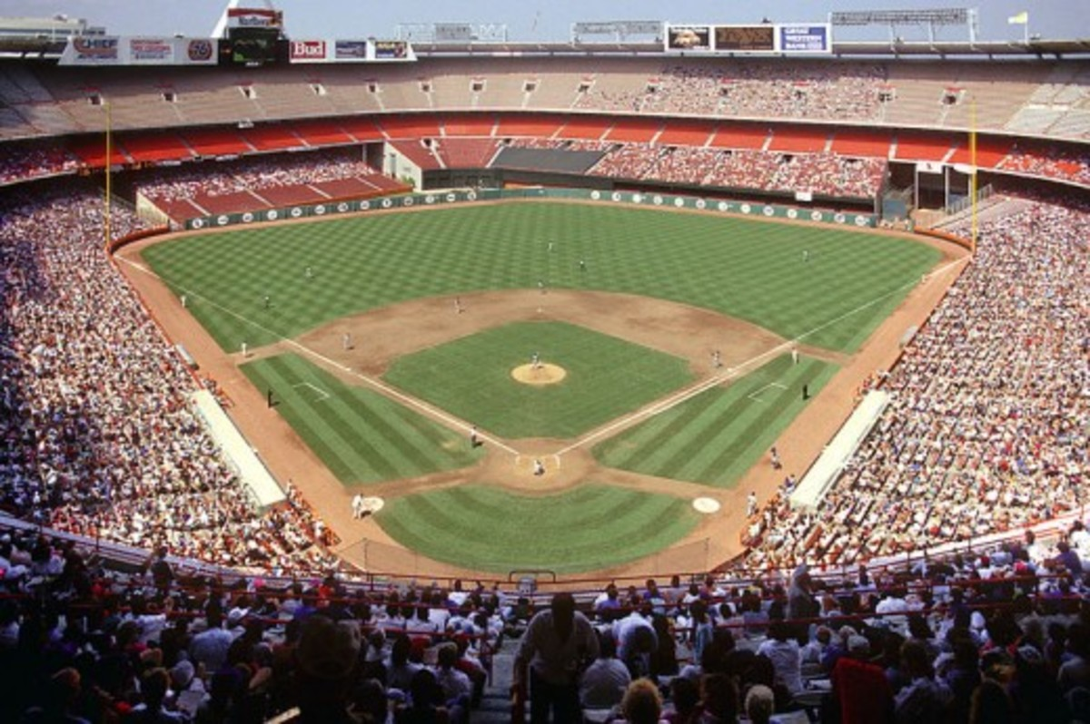 Angel Stadium; Anaheim, California